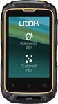 "Telefon Mobil Utok Dorel 3, Procesor Dual Core 1.2GHz, IPS 3.5"", 512MB RAM, 4GB Flash, 5MP, 3G, Wi-Fi, Dual Sim, Android (Rezistent la socuri, nisip, praf si apa)"