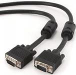 Cablu Gembird VGA - VGA,  Dubluecranat, 10m, CC-PPVGA-10M-B
