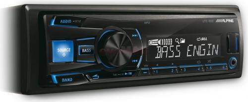 Player auto Alpine UTE-80B, 4x50W, USB, iluminare taste Albastru