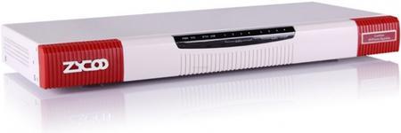 Switch Zycoo CooVox U50, IP PBX cu modul 4FXS + 4FXO, 4GB spatiu stocare, slot 2 este pentru modul Anolog/GSM
