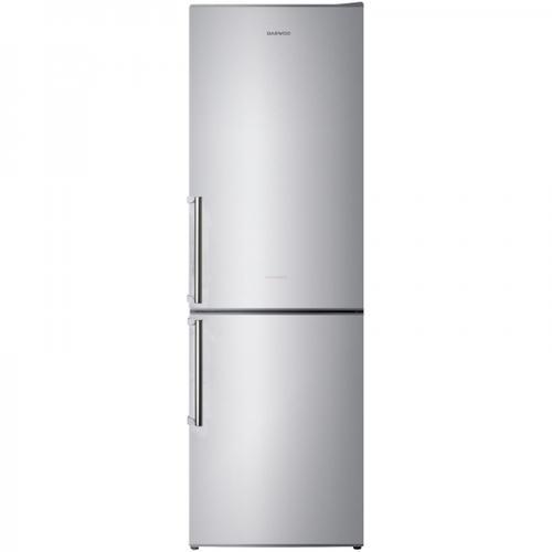 Combina frigorifica Daewoo RN-332NQM, 305 l, No Frost, Clasa A++, Argintiu